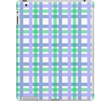Two Tone Blue Patern iPad Case/Skin