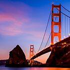 The Golden Gate Bridge by Radek Hofman