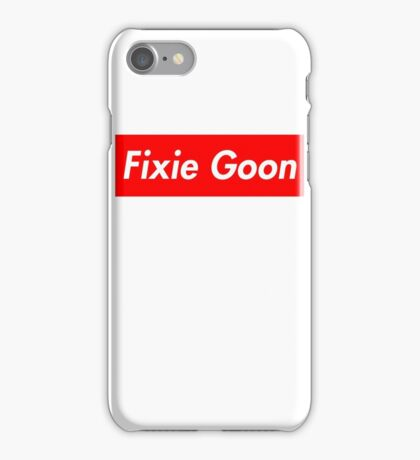 Fixie Goon Box Logo  iPhone Case/Skin