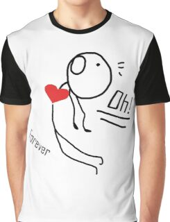 """our love story """"design couple""""  Graphic T-Shirt"""