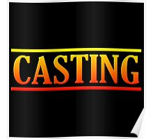 Colorful Casting Poster