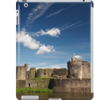 Caerphilly Castle, Wales. iPad Case/Skin