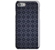 House Sigil Pattern (Blue) iPhone Case/Skin
