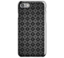 House Sigil Pattern (Grey) iPhone Case/Skin