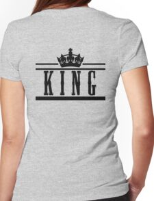 """KING """"Design Couple"""" Womens Fitted T-Shirt"""
