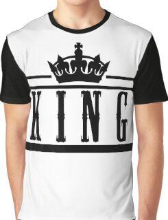 "KING ""Design Couple"" Graphic T-Shirt"
