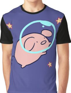 Space Pig Graphic T-Shirt