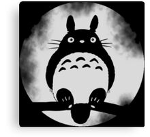 Moonlight Totoro Canvas Print