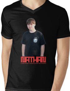 Negropolis King Mens V-Neck T-Shirt