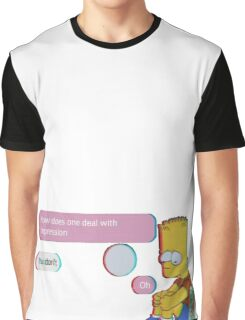 How to deal with depression Graphic T-Shirt