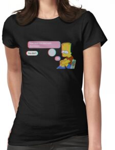 How to deal with depression Womens Fitted T-Shirt