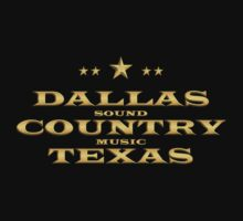Golden Dallas Country Texas One Piece - Short Sleeve