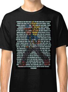 Gotta Catch 'Em All - Pokémon Classic T-Shirt