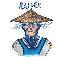 Raiden Photographic Print