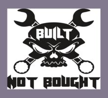 Built Not Bought Skull & Crossbones Kids Tee