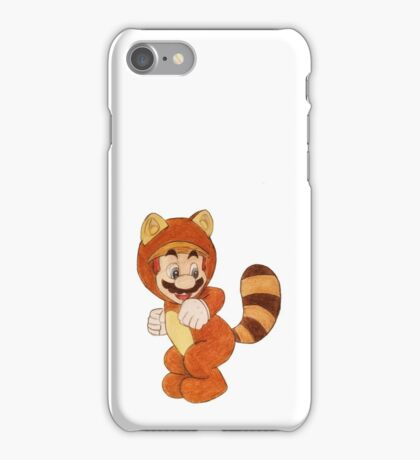 Mario tanooki iPhone Case/Skin
