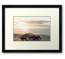 The New Jaguar F Type Coupe ... Framed Print