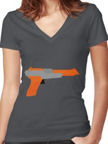 Zap Women's Fitted V-Neck T-Shirt