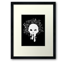 Crown of Life - White Framed Print