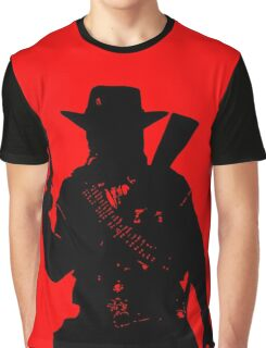 Cowboy silhouette Graphic T-Shirt