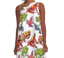 Frogs A-Line Dress