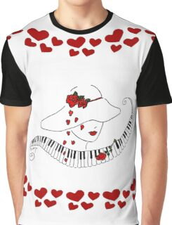 Heart Notes.... Graphic T-Shirt