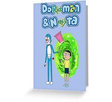 DoRickmon and Nortyta Greeting Card