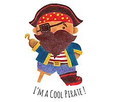 Cool Pirate Photographic Print