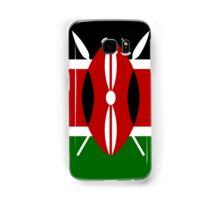 Kenya Flag T-Shirt - Kenyan Nairobi Sticker Samsung Galaxy Case/Skin