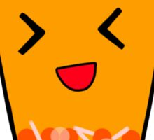 Mango Fruit Tea Sticker
