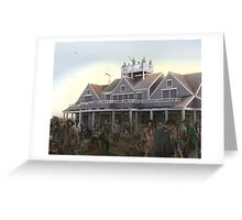 Mechanical Shutters are a good idea. Greeting Card