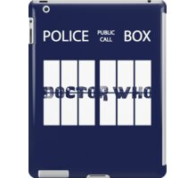 Public Call Box Window iPad Case/Skin