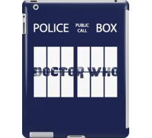 Public Call Box Window iPad Case/Skin