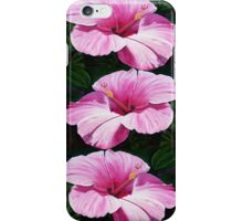 Pink Hibiscus  iPhone Case/Skin