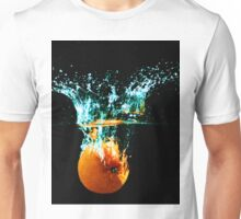 Orange Splash Unisex T-Shirt