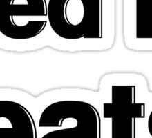 Feed Me Beats | Fresh Thread Shop Sticker