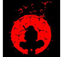 Itachi The Red Moon Photographic Print