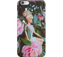 Barbie in the flowers iPhone Case/Skin