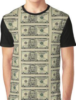 Coffee Dollar Bill Graphic T-Shirt