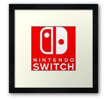 Switch Framed Print