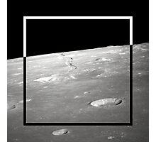 Moon Geometry Photographic Print