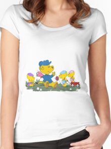 Ferald's Little Cousins Women's Fitted Scoop T-Shirt