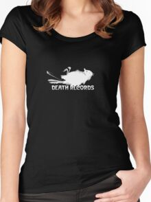 Phantom Of The Paradise Death Records Logo  Women's Fitted Scoop T-Shirt