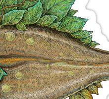 The Leafy Fish Sticker