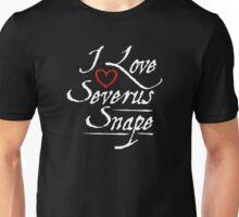 I Love Serverus Snape Unisex T-Shirt