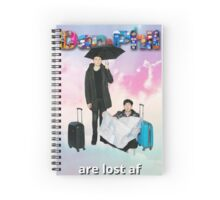 Dan and Phil Are Lost Spiral Notebook