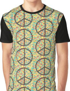 Peace Over The Stars Graphic T-Shirt