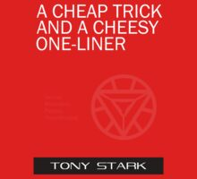 A Cheap Trick and a Cheesy One-Liner Kids Tee