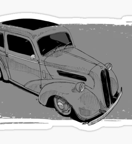 Ford Anglia Hot Rod Sticker