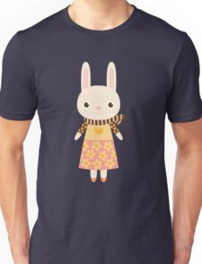 Cute kawaii cartoon bunny rabbit Unisex T-Shirt